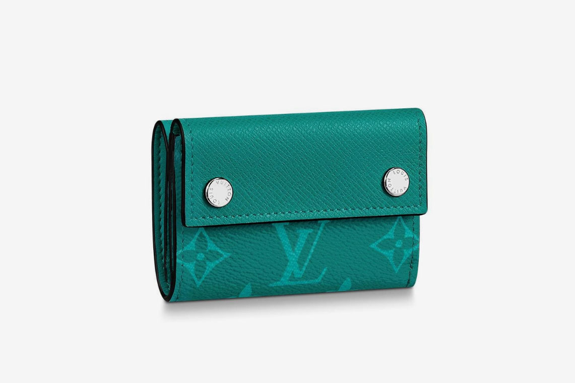 Discovery Compact Wallet in Green