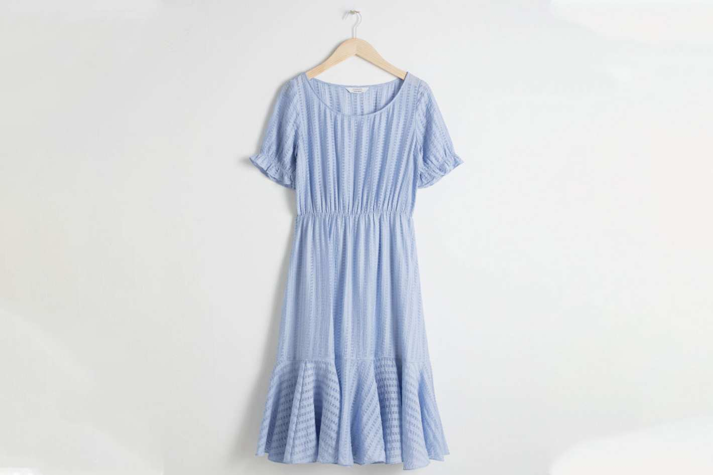 & Other Stories Ribbon Stripe Dress