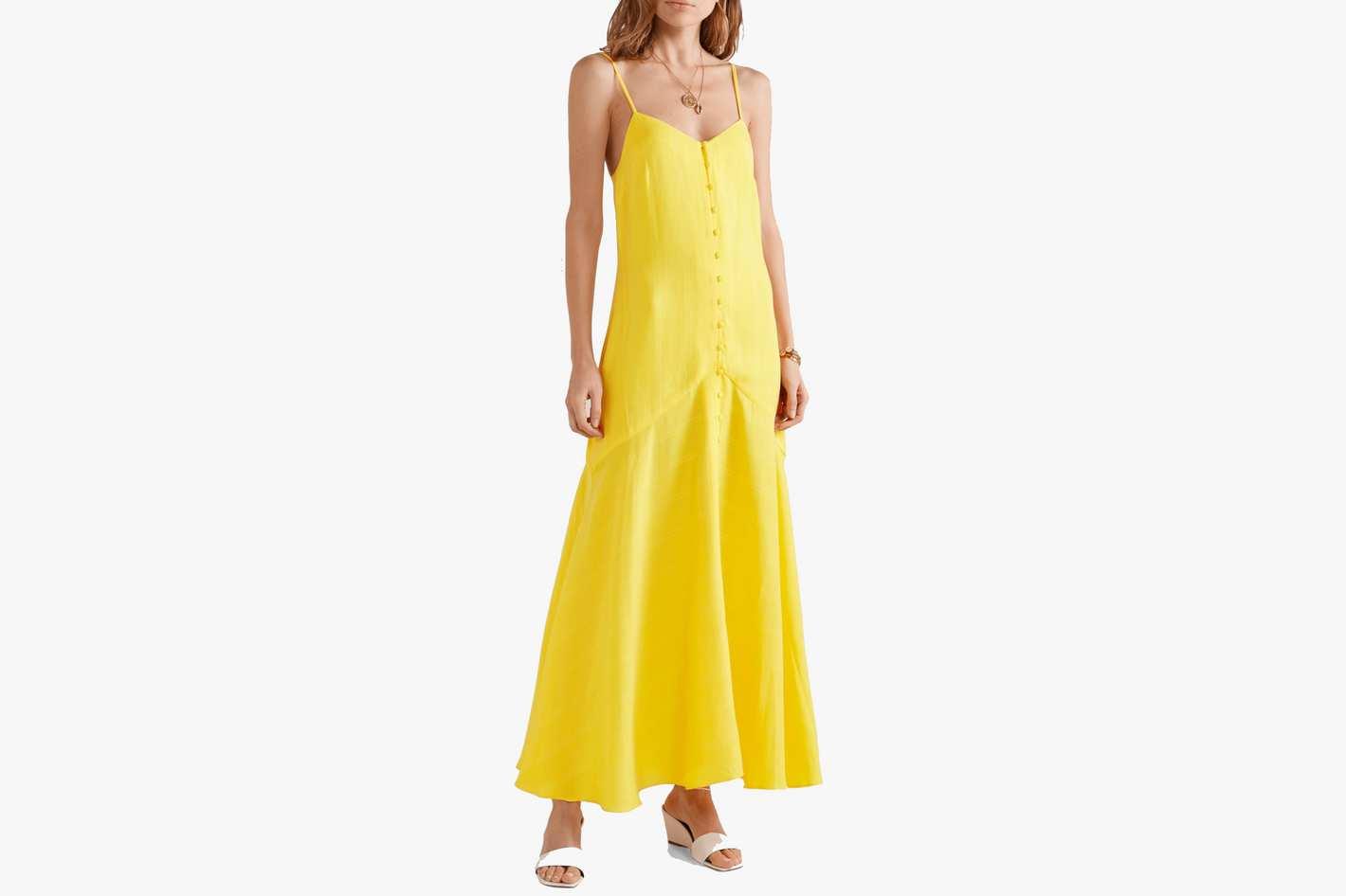 Mara Hoffman Diana Tencel Maxi Dress