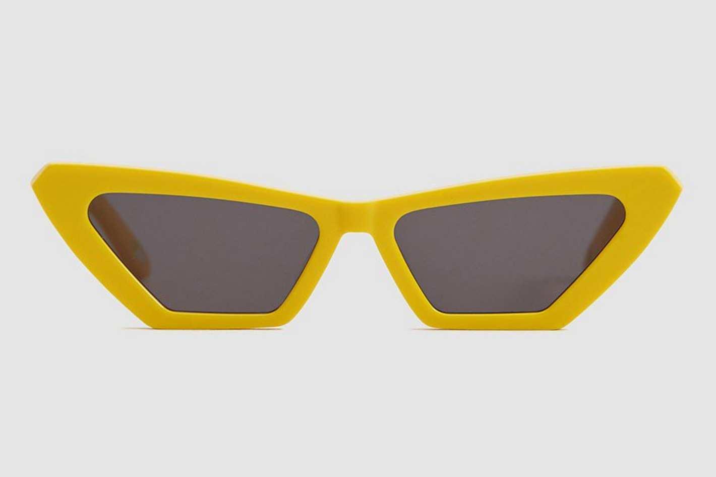Chimi Eyewear Tiger Square Yellow Sunglasses