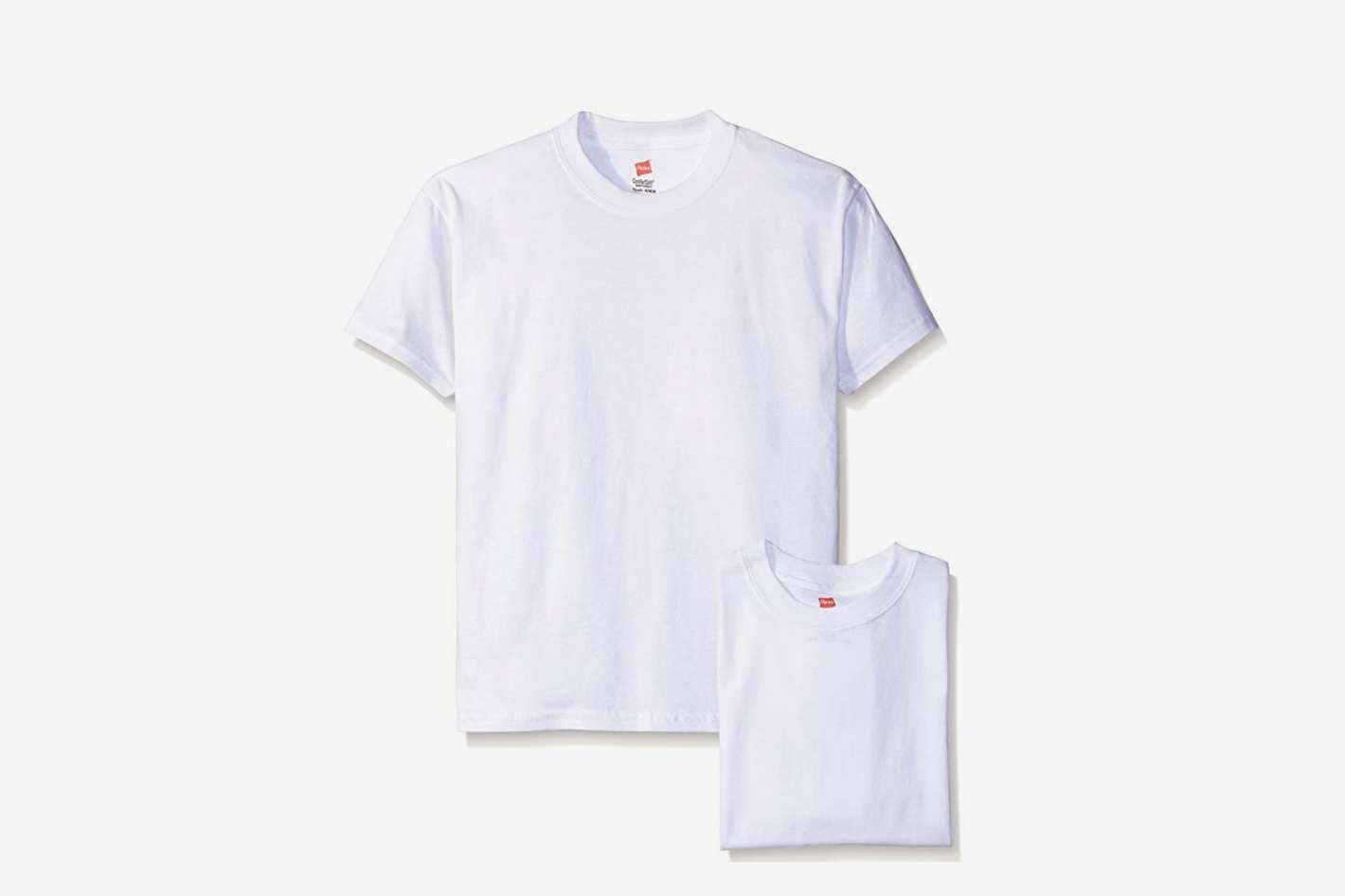 Hanes Boys' Comfortsoft T-Shirt Pack of 6