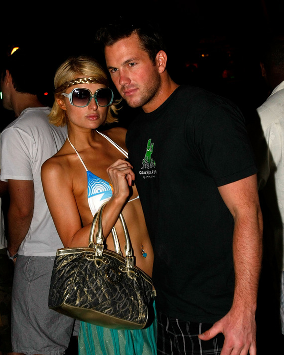 Paris Hilton and Doug Reinhardt.