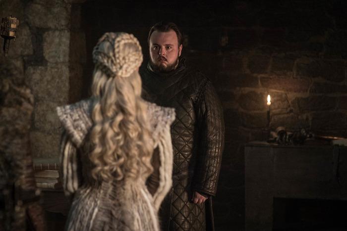 Samwell Tarly and Daenerys.