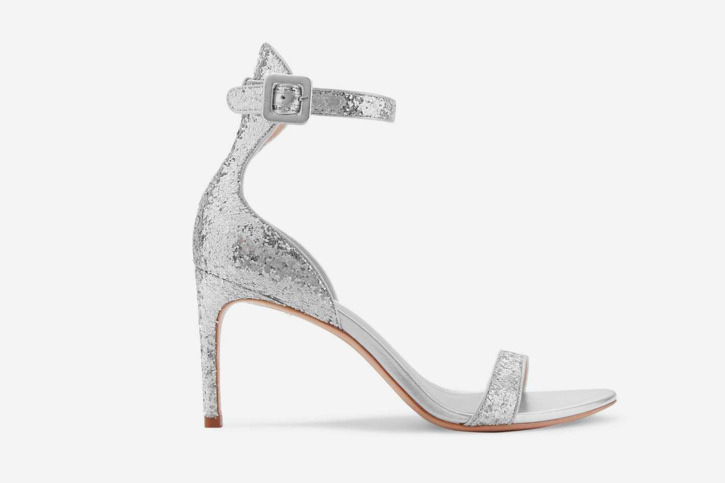 Sophia Webster Nicole Glittered Leather Sandals