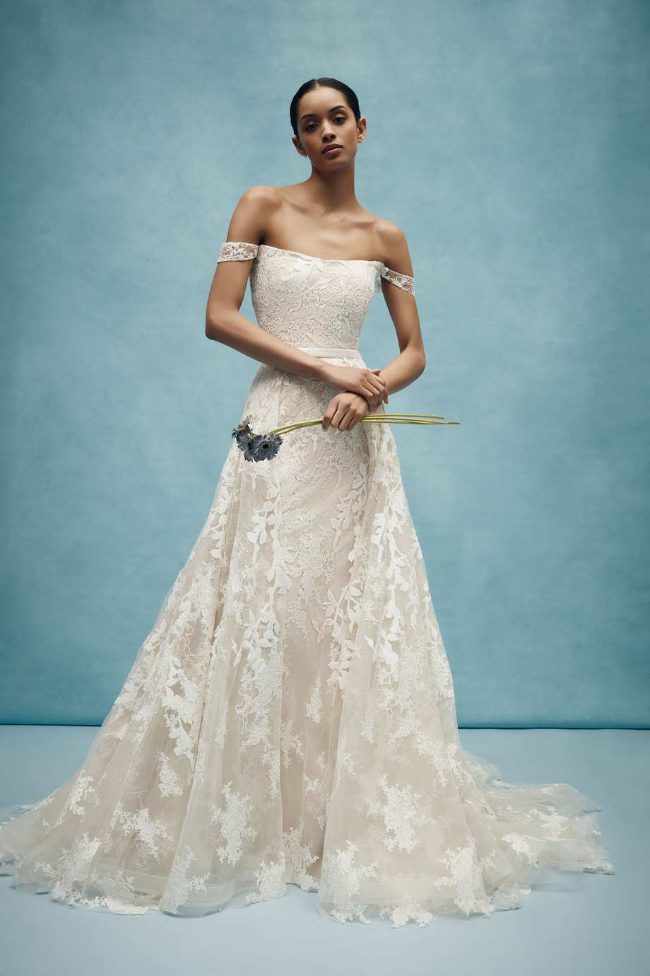 58218f98479 Best Wedding Dresses From Bridal Fashion Week Spring 2020
