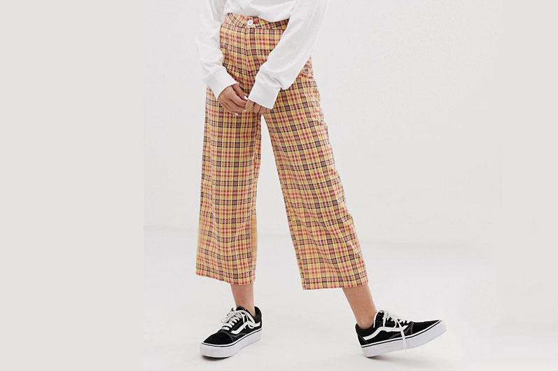 Asos Design 90s Check Pants