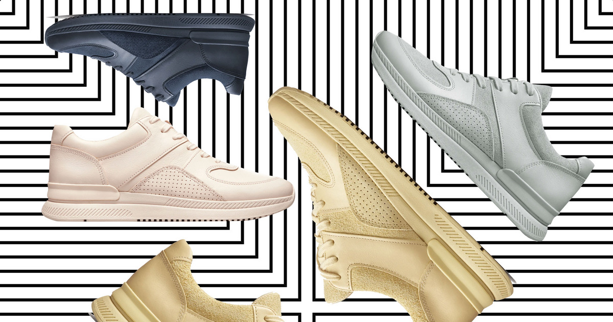 Everlane's Sustainable Dad Sneakers Are Here