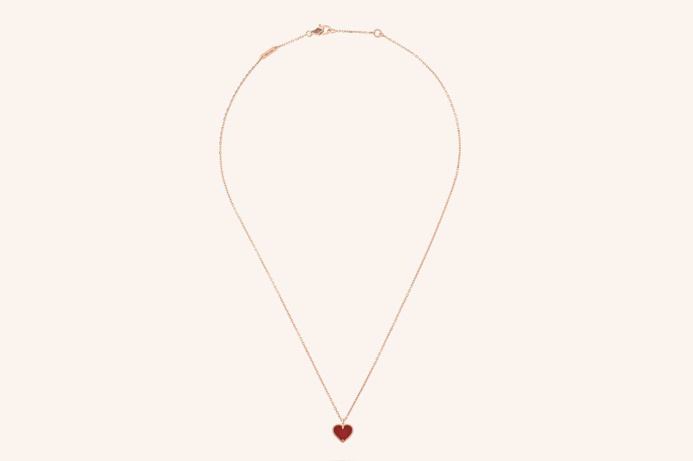 Van Cleef & Arpels Sweet Alhambra Heart Pendant
