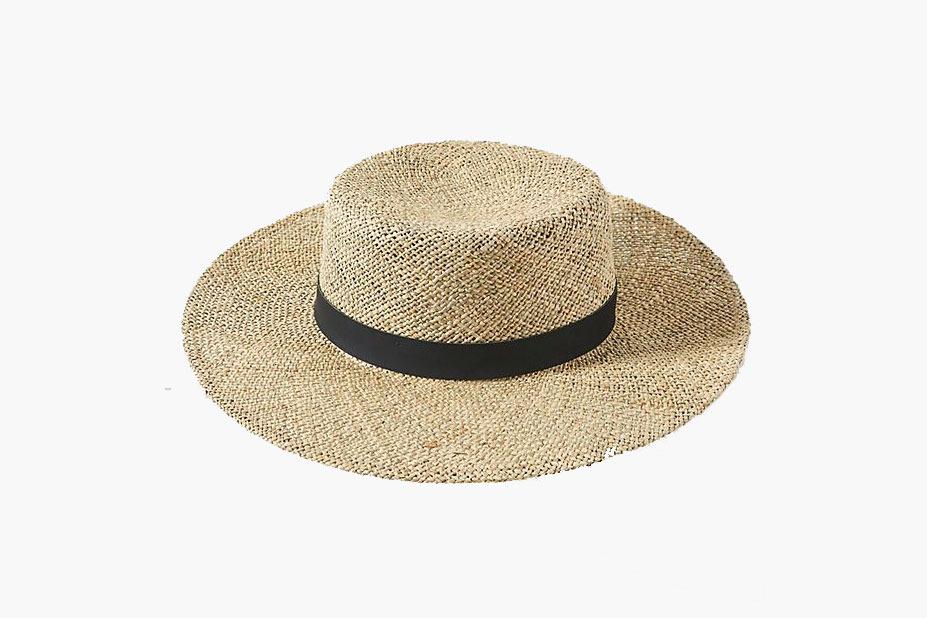 Anthropologie Austin Boater Hat