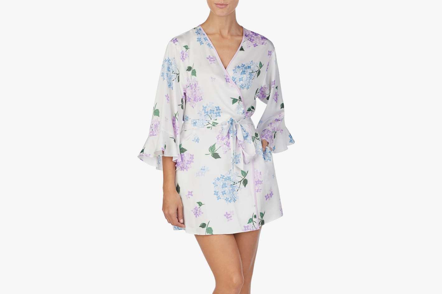 Kate Spade Satin Short Robe