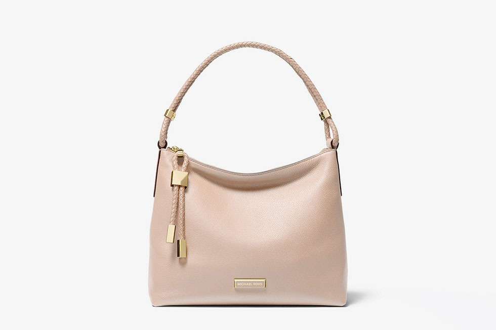 df0166ffcf58 Michael Kors Lexington Medium Pebbled Leather Shoulder Bag