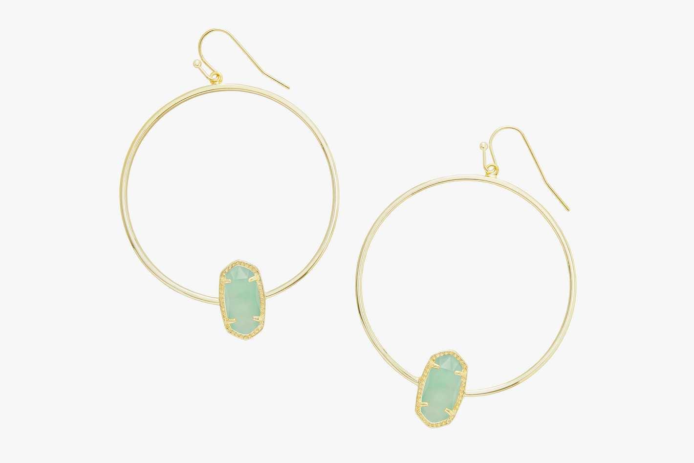 Kendra Scott Elora Gold Hoop Earrings