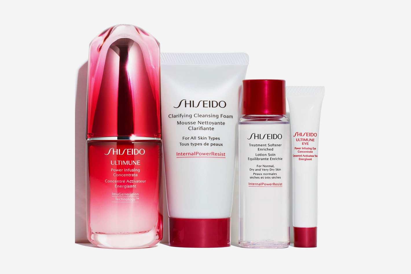 Shiseido Strengthen Defenses The Introductory Regimen Set