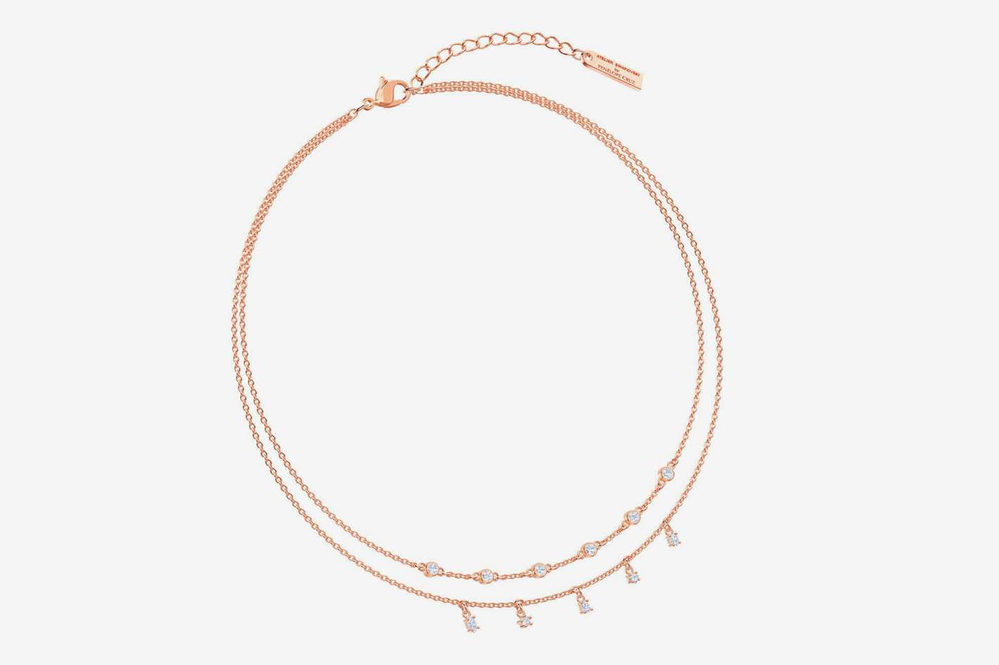 Swarovski X Penélope Cruz Moonsun Double Necklace