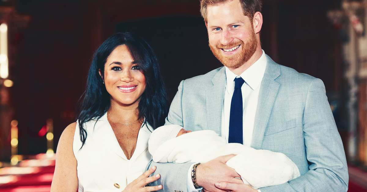 fcde2651cb7c2 Meghan Markle, Prince Harry Welcome Baby Boy - Name Revealed