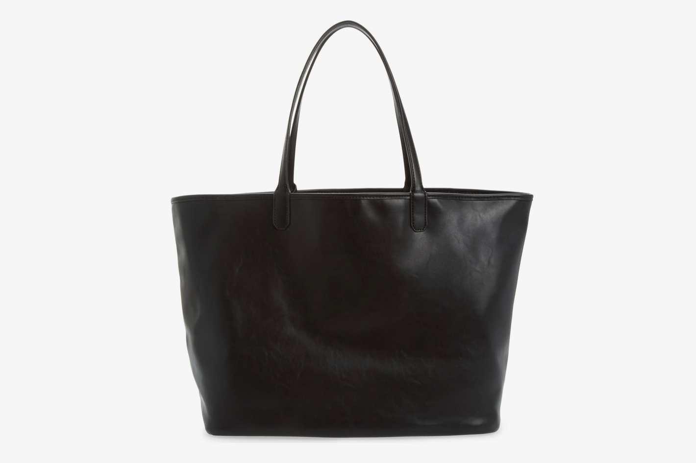 MALI + LILI Reversible Vegan Leather Tote