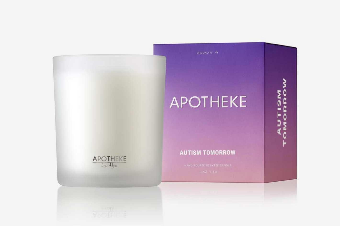 Autism Tomorrow x APOTHEKE Candle
