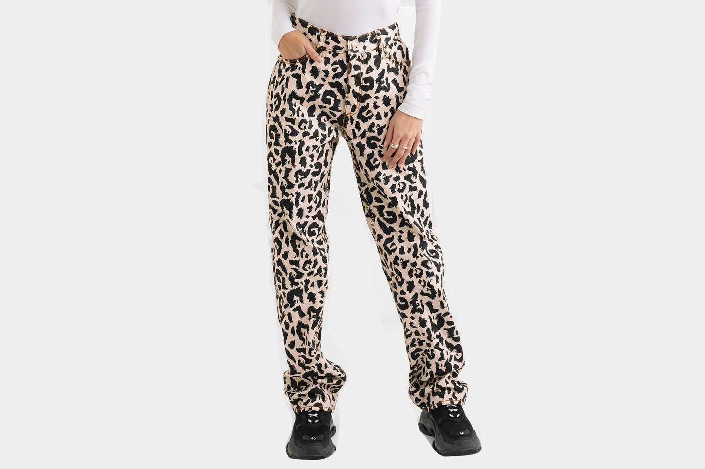 Eytys Benz Leopard-Print