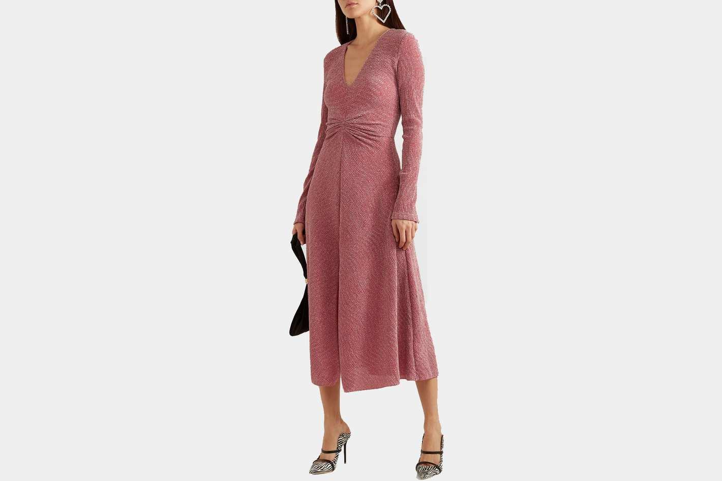 Rotate Birger Christensen Gathered Dress