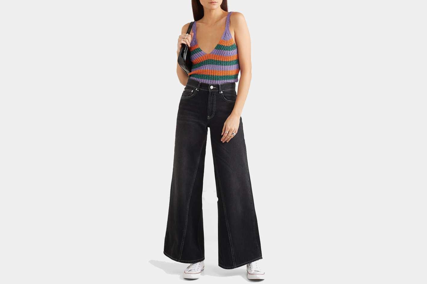 Ganni High-Rise Jeans