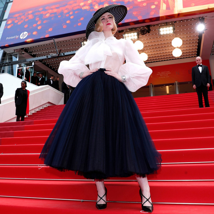 Elle Fanning Is Best Dressed at Cannes
