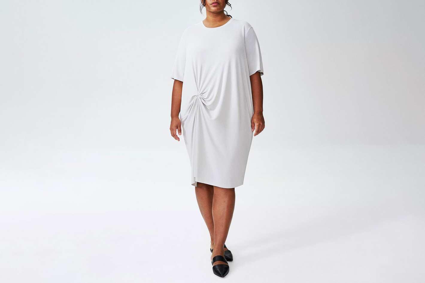 Monica Gathered Dress
