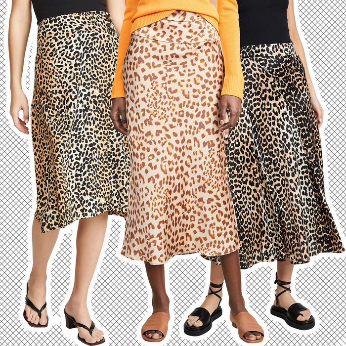 8956615c2 The Skirt of the Summer Is a Leopard-Print Midi Skirt