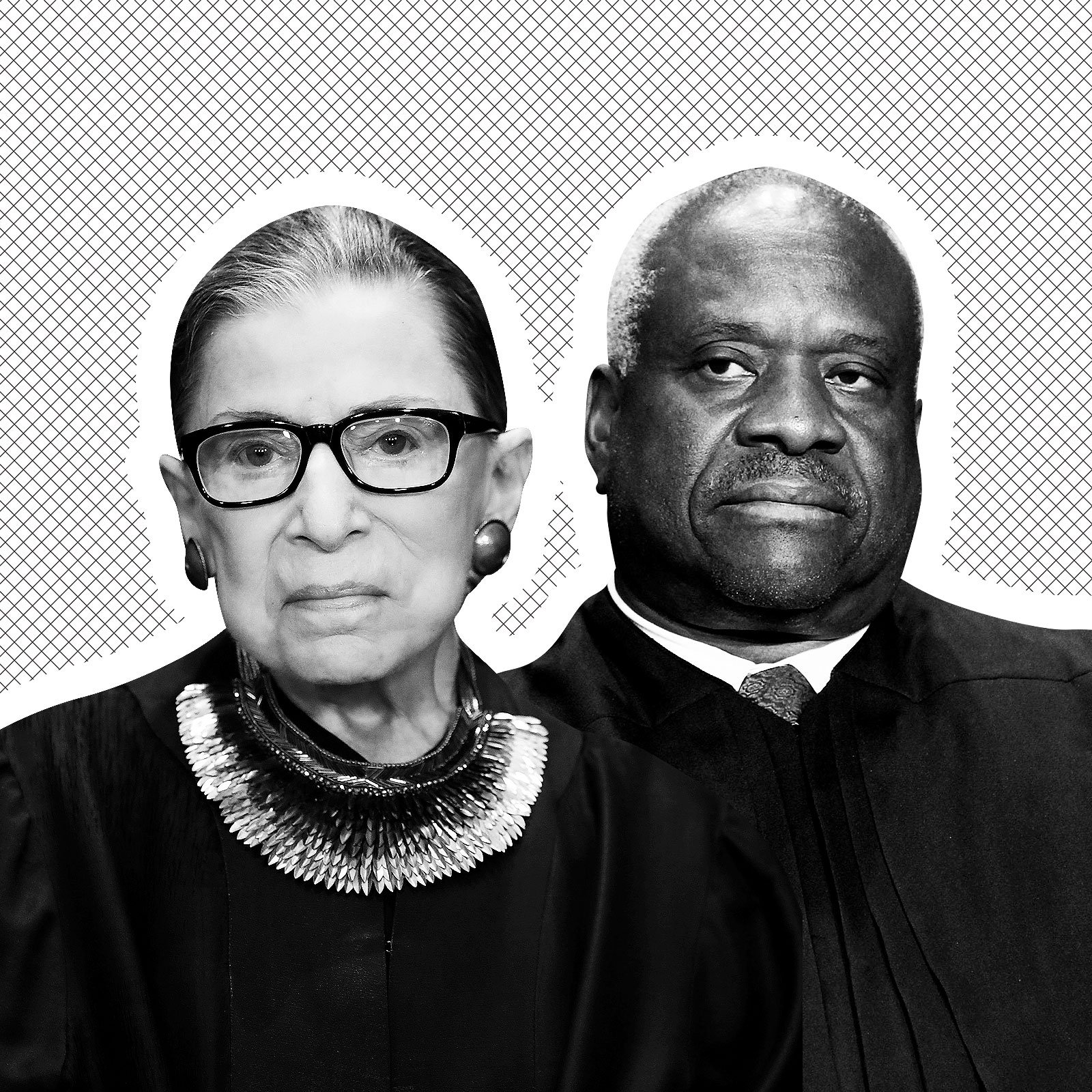 Ruth Bader Ginsburg and Clarence Thomas Are Officially at War Over Abortion