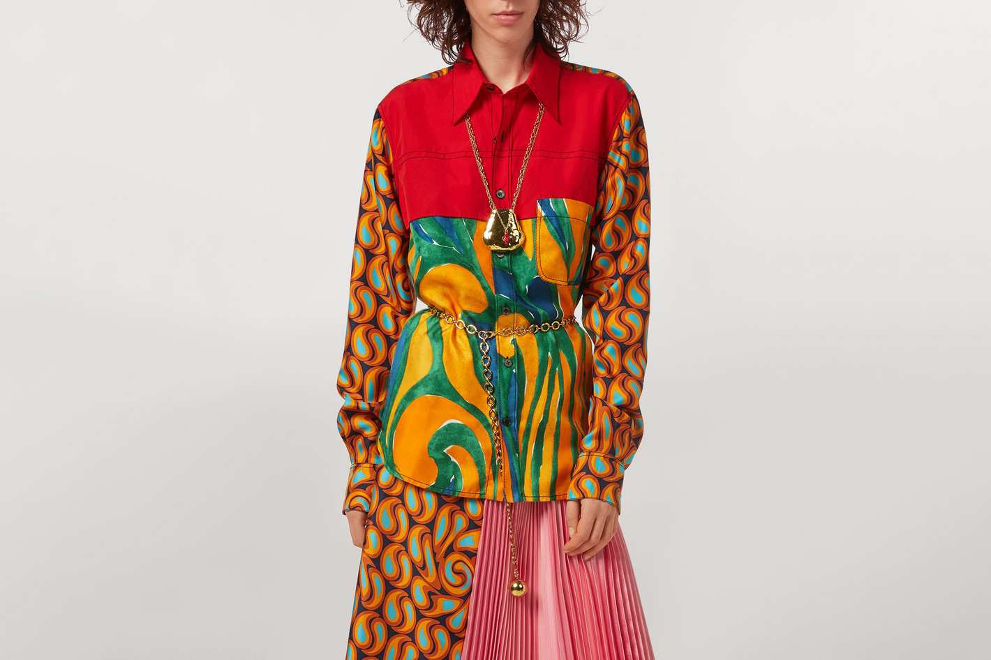 Marni Abstract Print Shirt