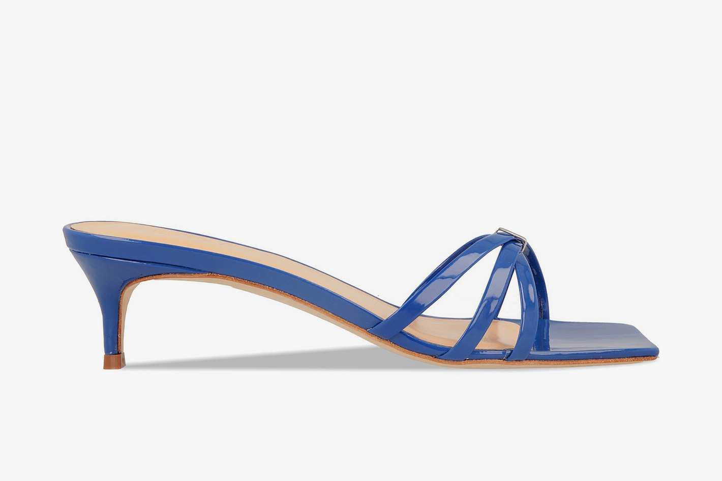 by FAR Libra Blue Patent Leather