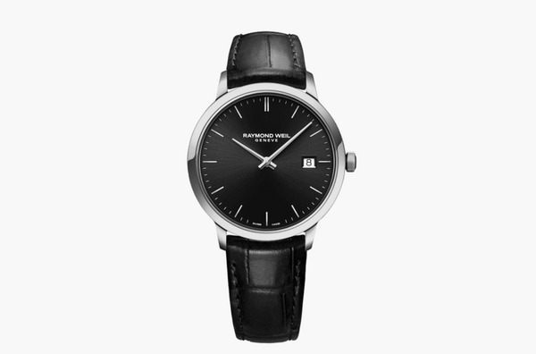 Raymond Weil Toccata Classic Black Dial Quartz Watch