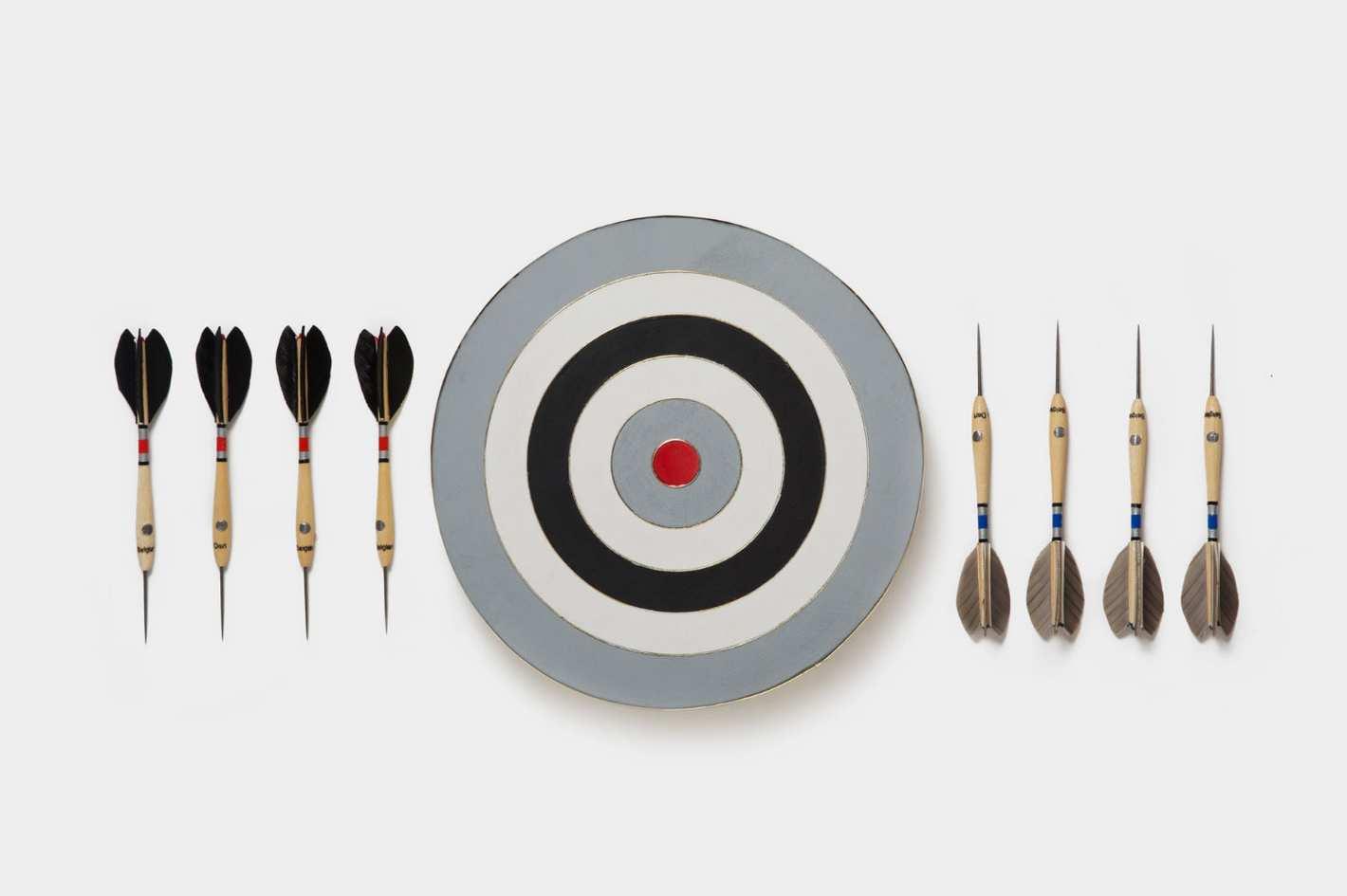 Best Made Company Monochrome Belgian Dart Set
