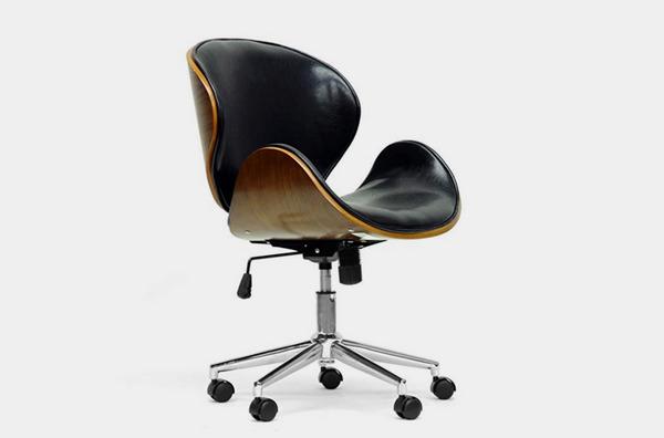 Baxton Studio Bruce Modern Office Chair