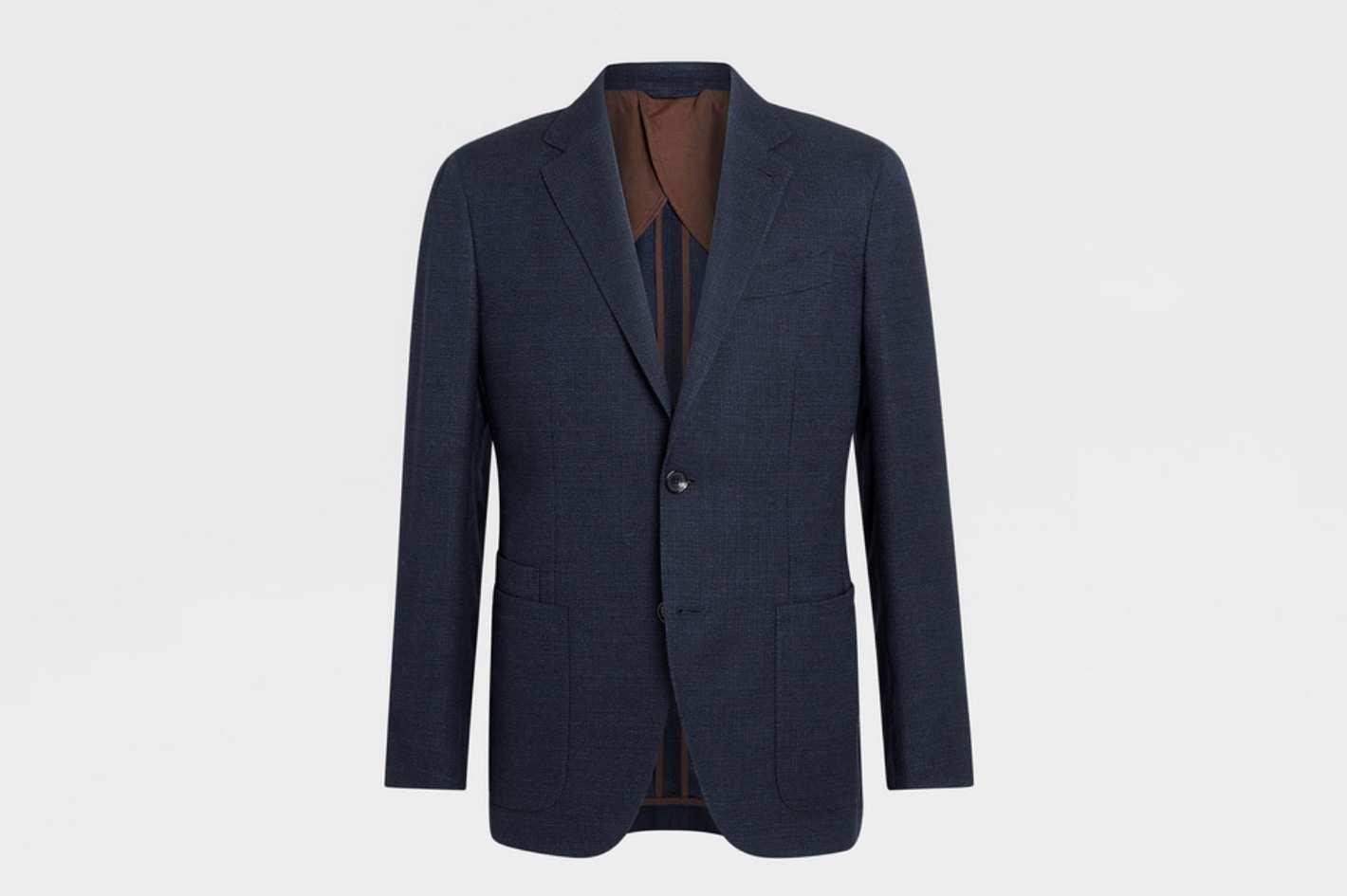 Ermenegildo Zegna Zegna Silk Jacket