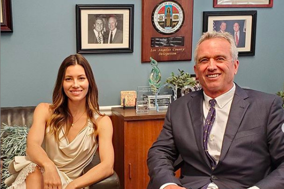 Jessica Biel Lobbies California Lawmakers Against State Vaccine Legislation