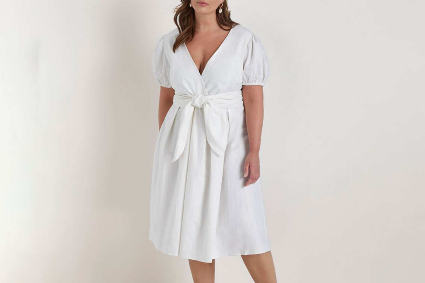 Eloquii Fit and Flare Dress