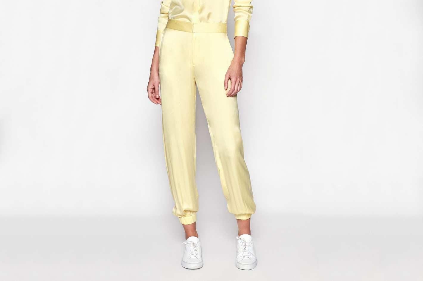 Equipment Le Jogging Silk Trouser