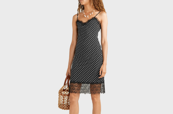 MICHAEL Michael Kors Lace-trimmed Dress