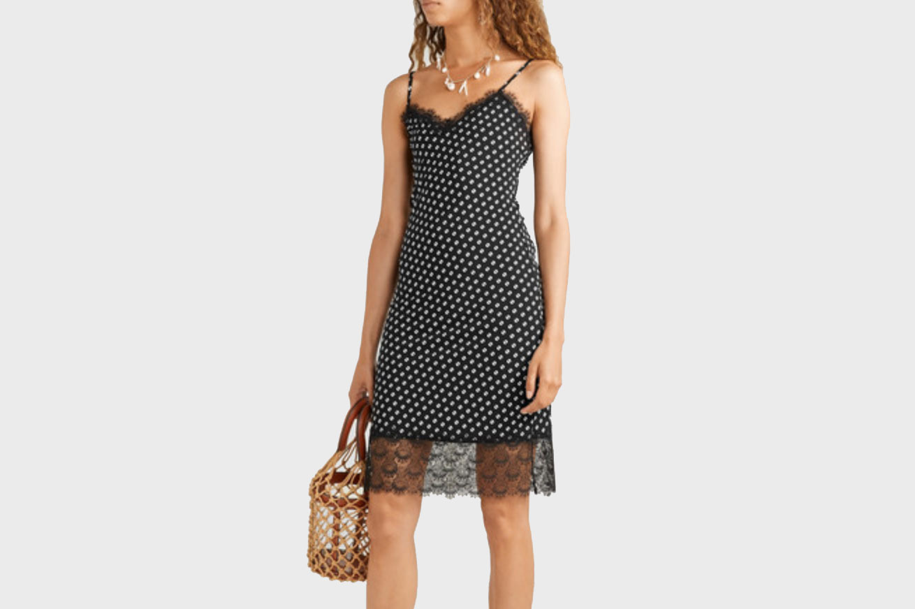 MICHAEL Michael Kors Lace-trimmed Dress