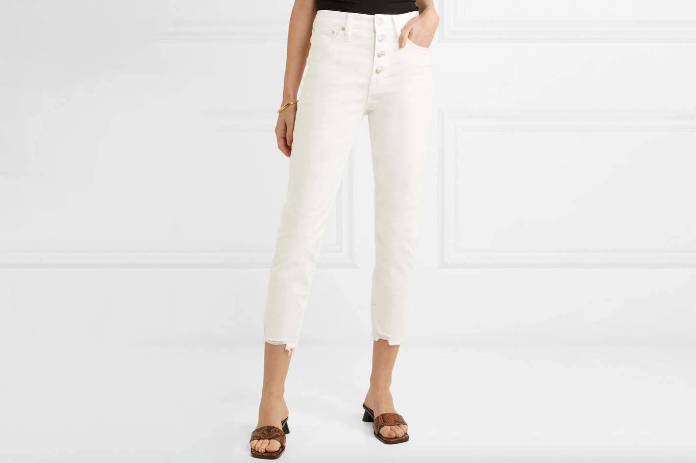 Madewell The Perfect Vintage Cropped Jeans