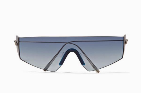 Kaleos Edwards D-frame Titanium Sunglasses