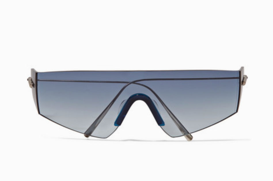 Kaleos Edwards D-frame Titanium Sunglasses