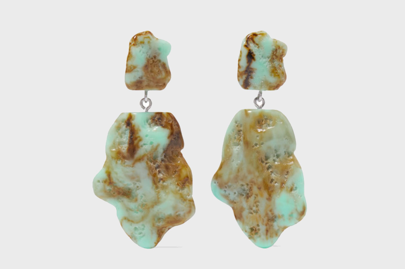 Valet Molly Marbled Resin Earrings