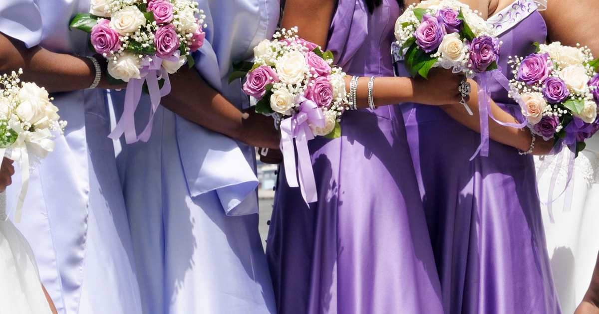 Woman Has 34 Bridesmaids at Her Wedding but Wanted 50