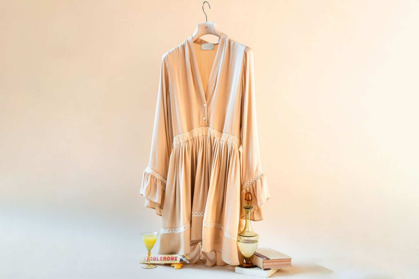 Arjé The Devon Short Silk Dress
