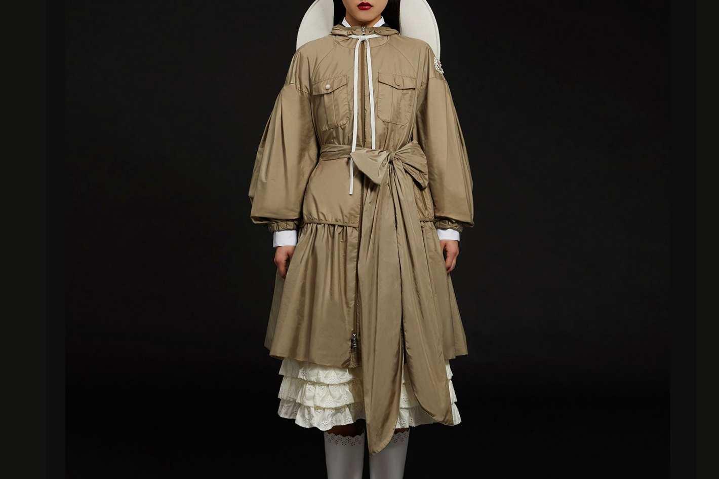 """4 Moncler Simone Rocha """"Ellen"""" Trench Coat"""