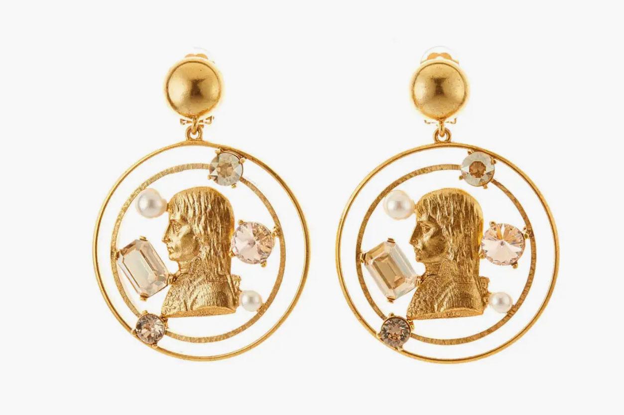 Coin-Drop Earrings