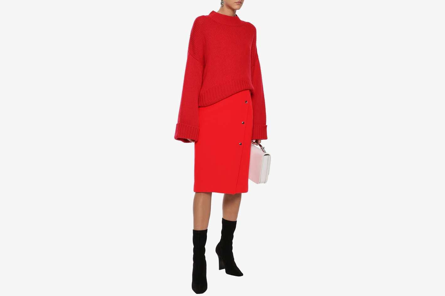 Goen.J Wool-blend Skirt