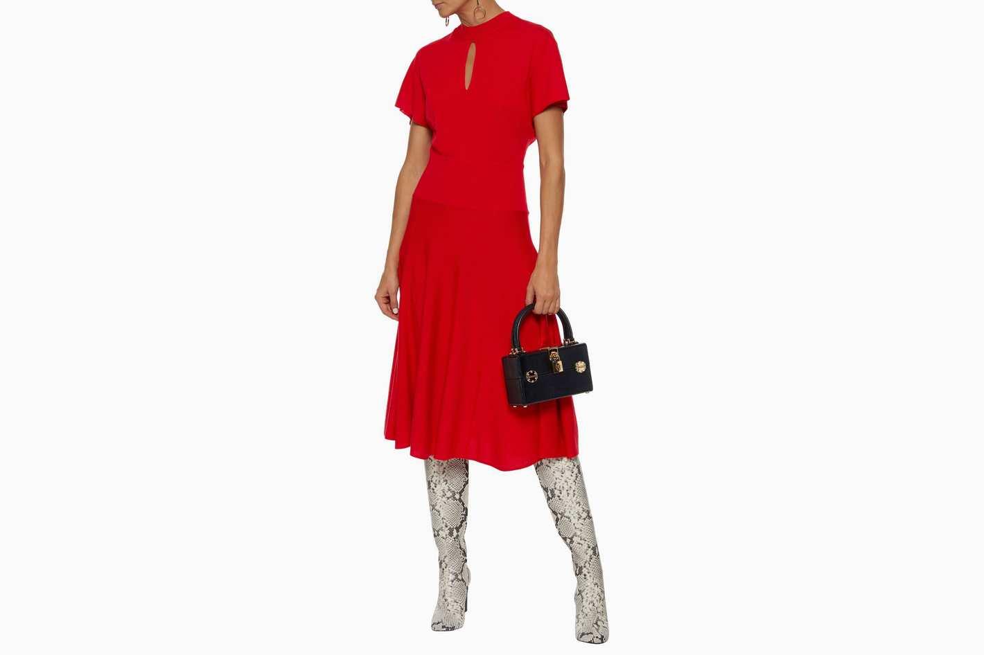 Lanvin Cutout Dress