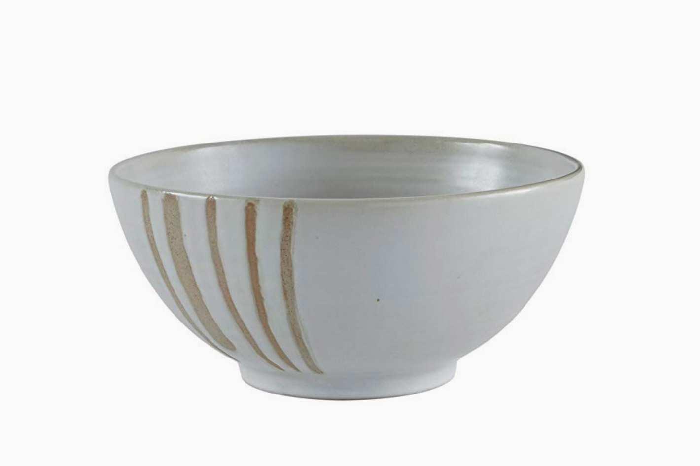 Stone & Beam Modern Stoneware Decorative Bowl